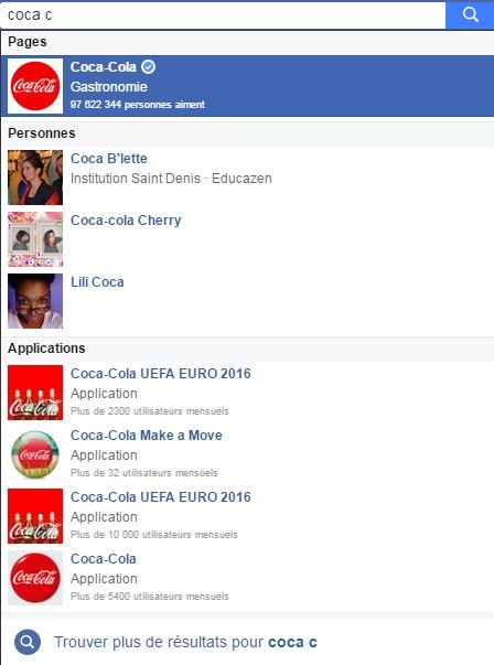 page coca cola