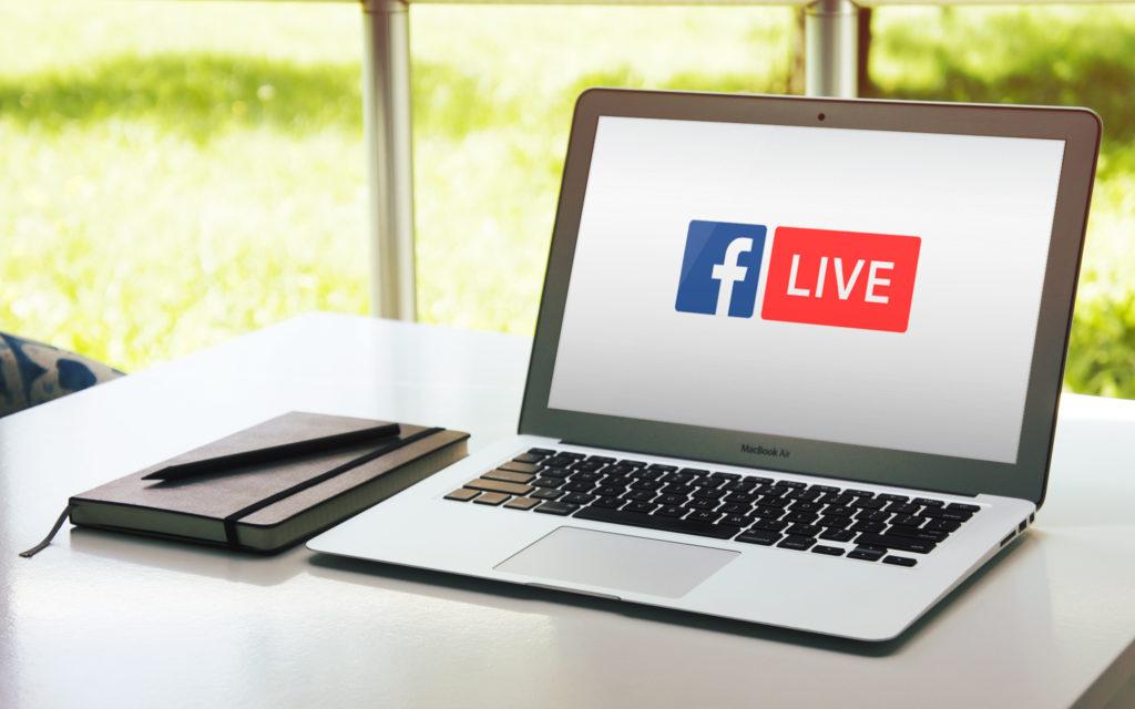 Visuel Facebook Live
