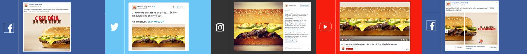 Publicité innovante de Burger King